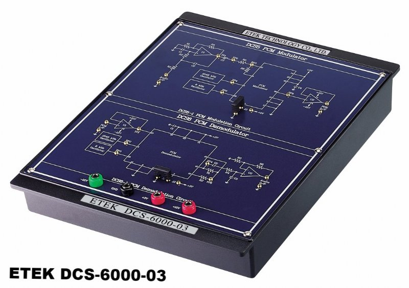 ETEK DCS-6000, Digital Communication Trainer