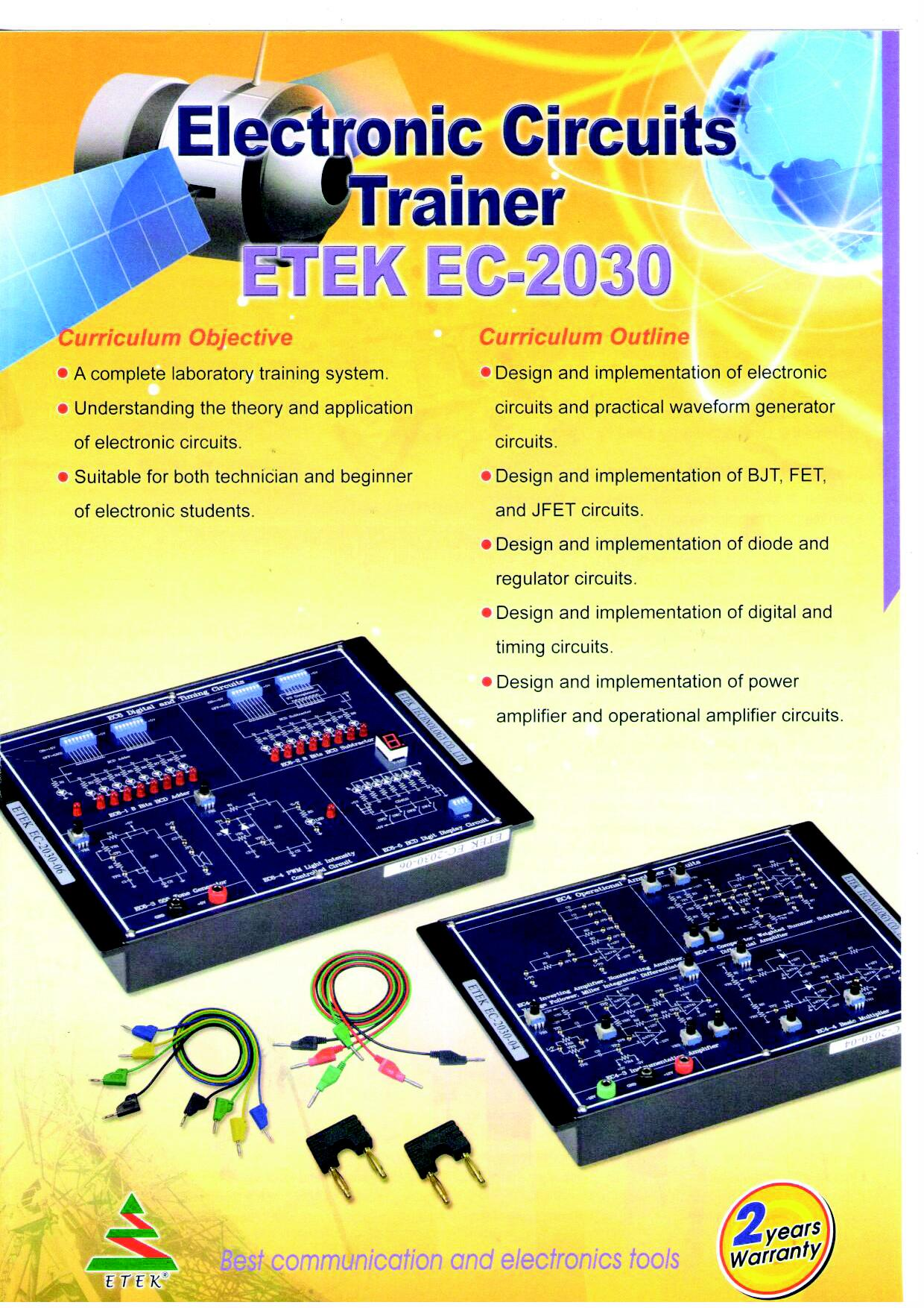 Electronic Circuits Trainer